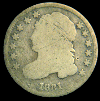 Capped Bust Dime Cuds 1829 1837 Cuds On Coins